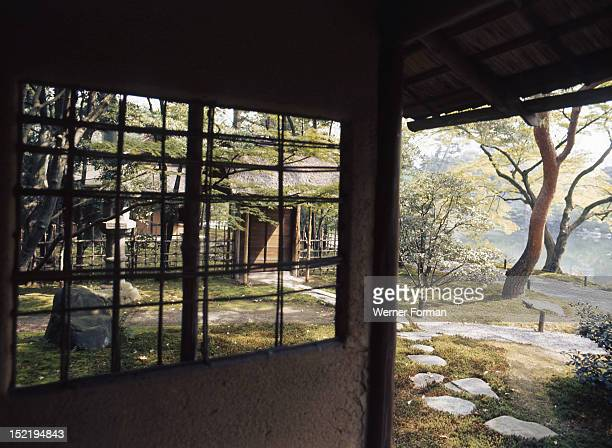 Sento Imperial Palace, Tea house and garden. Japan. Kyoto.