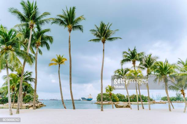 Sentosa Island Beach, Singapur