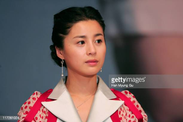 Seo YoungHee during Yeonriji Seoul Press Conference at Seoul Shilla Hotel Dynasty Hall in Seoul South South Korea