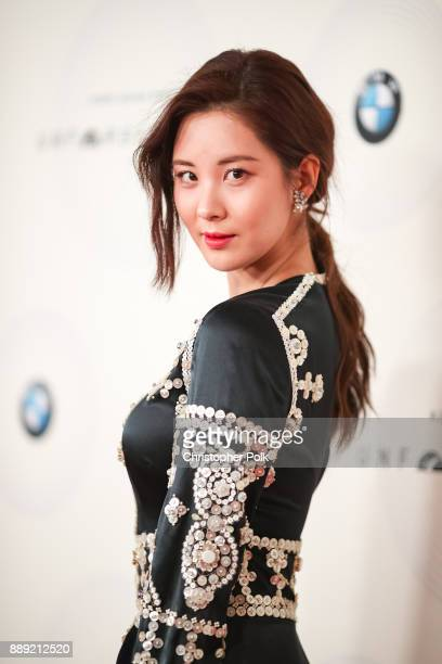Seohyun arrives to at The 16th Annual Unforgettable Gala held at The Beverly Hilton Hotel on December 9 2017 in Beverly Hills California