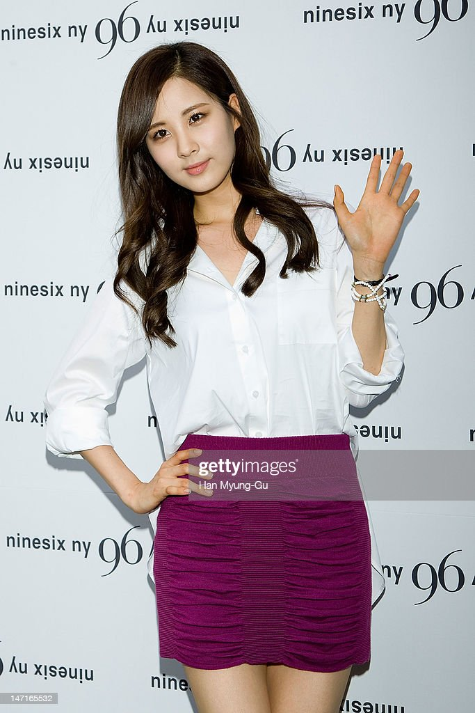 Seohyun of South Korean girl group Girls' Generation arrives the 'Nine Six NY' Directing Collection with Chris Han at Platoon Kunsthalle on June 26, 2012 in Seoul, South Korea.