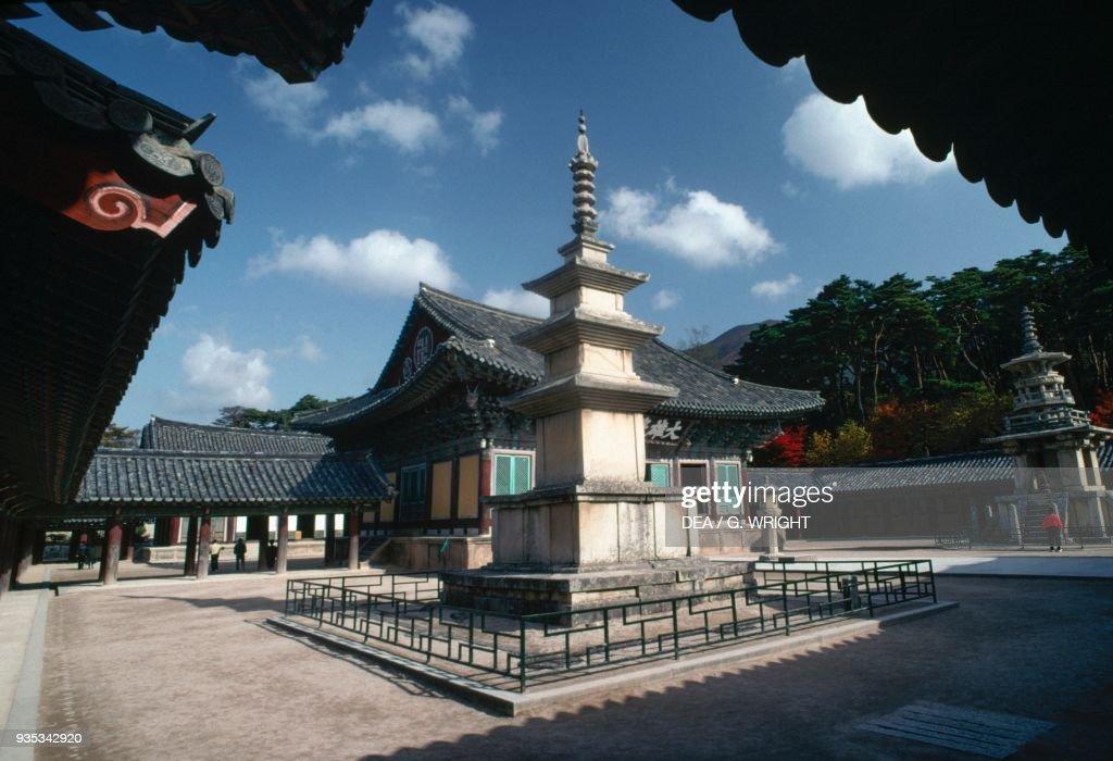 Seokgatap pagoda within the Bulguksa Temple complex