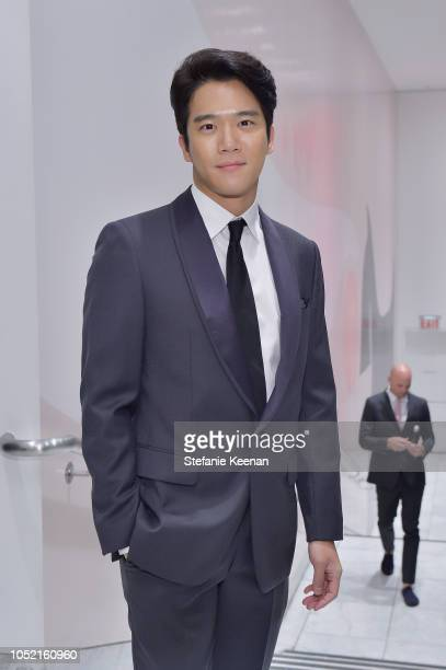 Seokjin Ha attends the Hammer Museum 16th Annual Gala in the Garden with generous support from South Coast Plaza at the Hammer Museum on October 14...