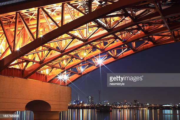 Seongsan Bridge at Night