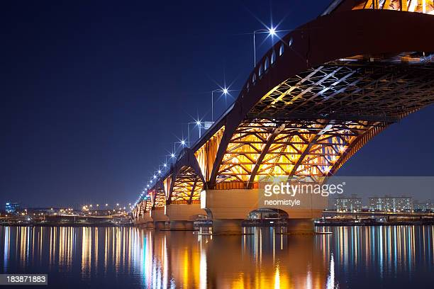 Seongsan Bridge at Night