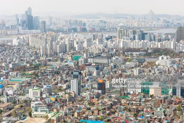 Seoul cityscape, South Korea, Asia