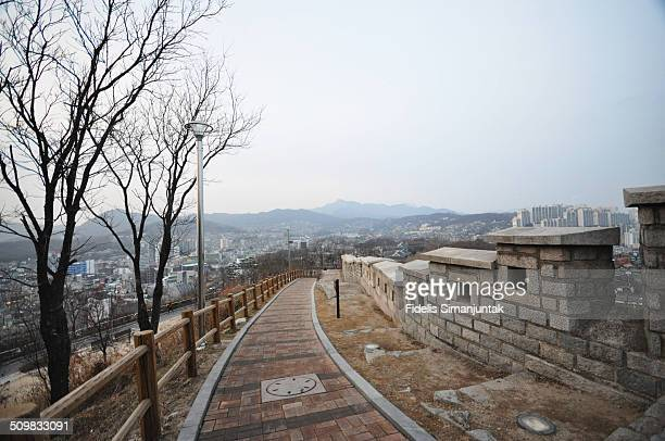 Seoul Fortress at Naksan Park
