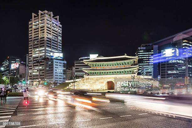 Seoul night rush