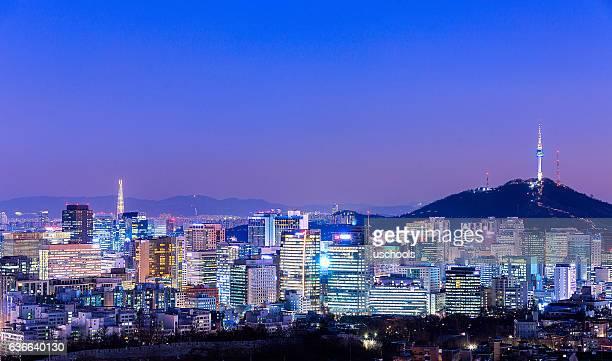 Seoul Skyline Panorama