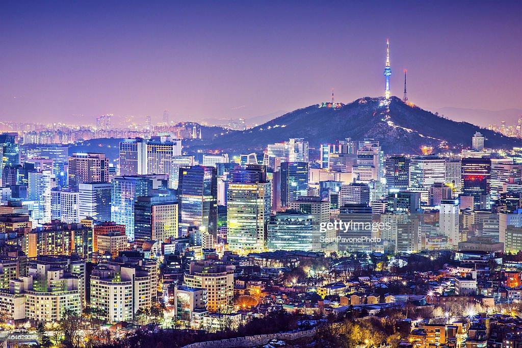 Seoul Skyline : Stock Photo