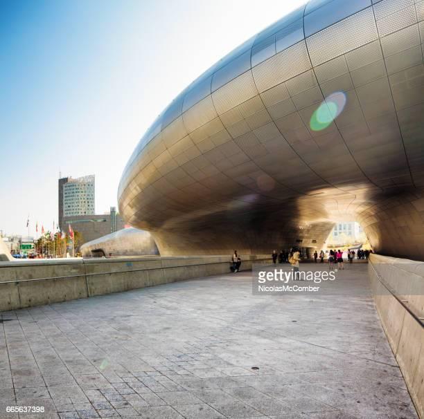 ソウル韓国東大門デザイン プラザ入口