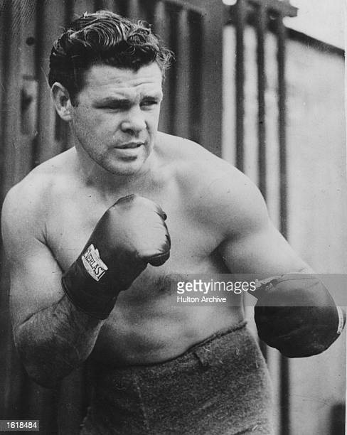 Mickey Walker American middleweight boxer Mandatory Credit Allsport Hulton/Archive
