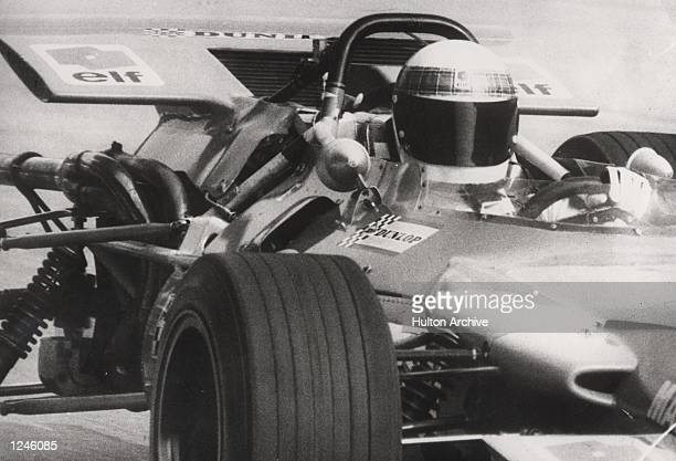 Tyrrell's Jackie Stewart clinches the World Title by winning the Italian Grand Prix driving a MatraFord Mandatory Credit Allsport Hulton/Archive