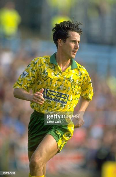 Ian Culverhouse of Norwich City during an FA Carling Premier League match against Coventry City at the Highfield Road Ground in Coventry, England....