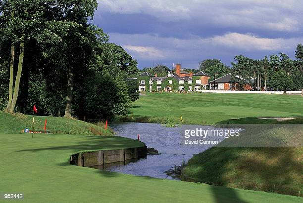 General view of the 10th hole on the Brabazon Course at the Belfry, venue for the 1993 Ryder Cup, in Sutton Coldfield, England. \ Mandatory Credit:...