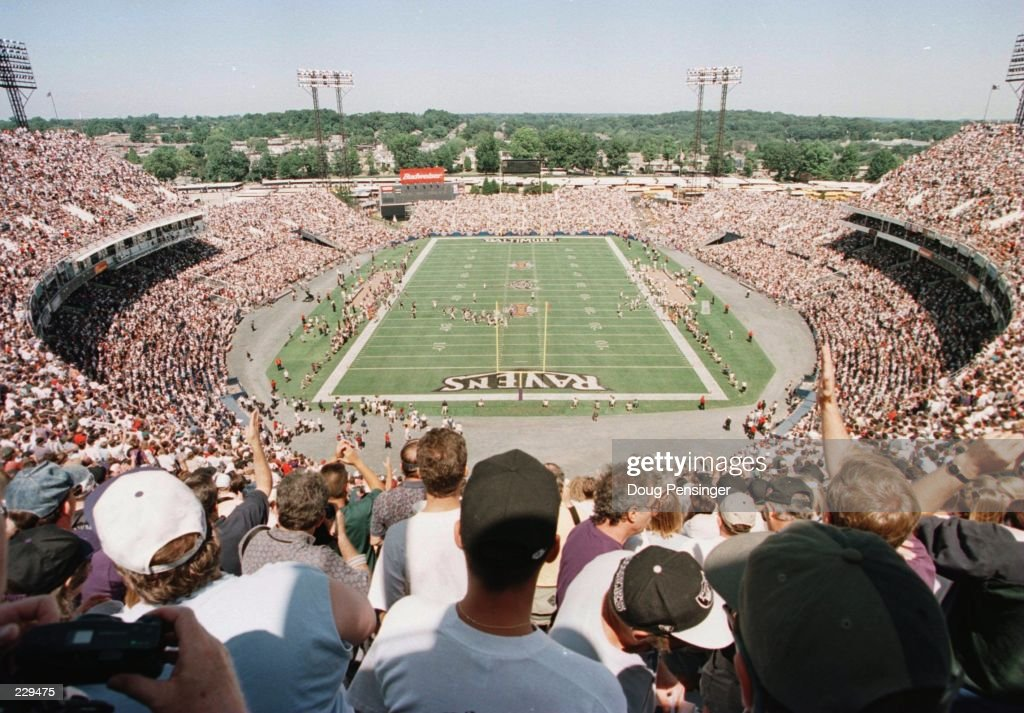 Ravens v Raiders : News Photo
