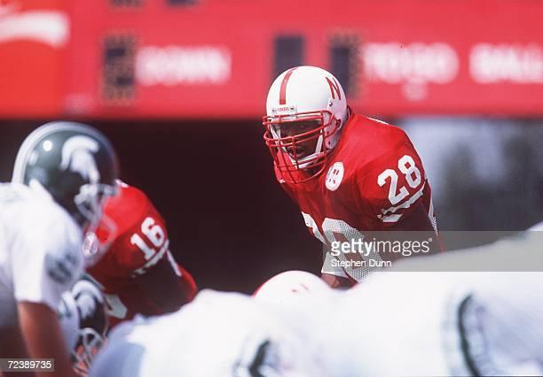 Jamel Williams of the University of Nebraska during the Cornhuskers 5514 win over Michigan State at Memorial Stadium in Lincoln Nebraska Mandatory...