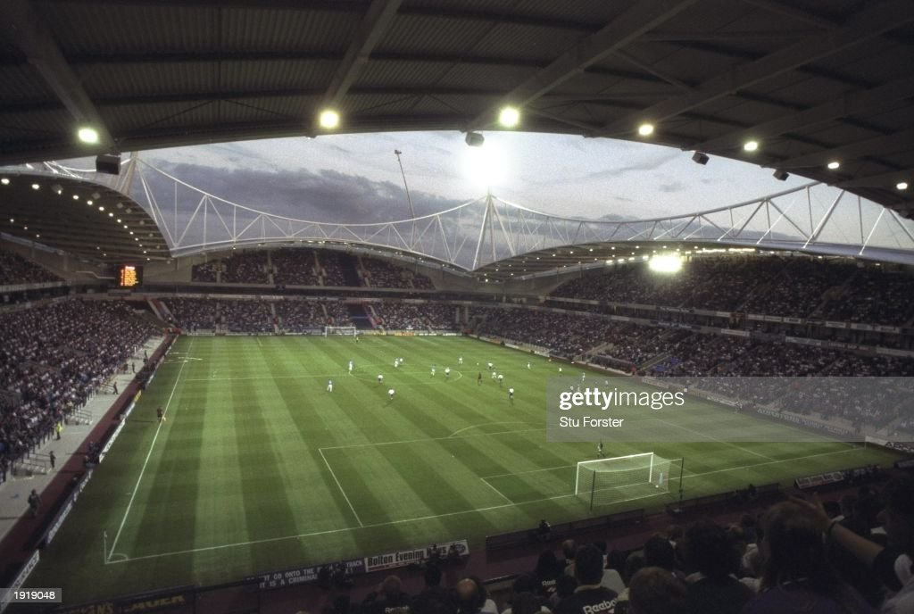 A general view of the Reebok Stadium : News Photo