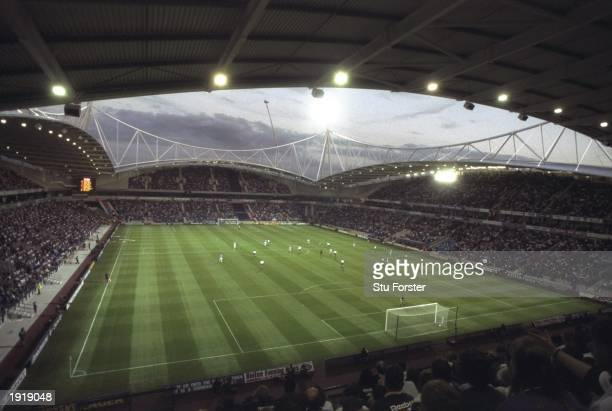 A general view of the Reebok Stadium during the FA Carling Premiership match between Bolton Wanderers and Everton at the Reebok Stadium in Bolton...