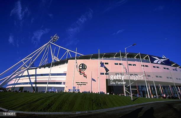 General view of the Reebok Stadium, home to Bolton Wanderers Football Club in Bolton, England. \ Mandatory Credit: Stu Forster /Allsport