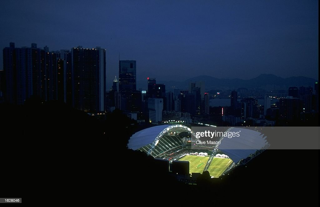 Aerial view of the Cricket Stadium : News Photo