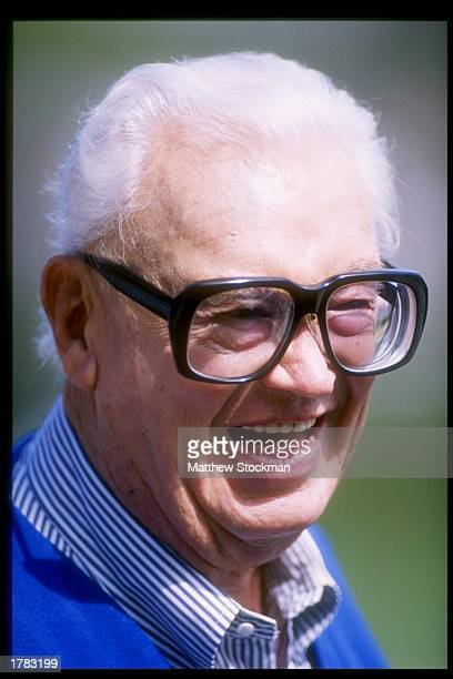 Chicago Cubs baseball announcer Harry Caray during the Cubs 43 win over the St Louis Cardinals at Wrigley Field in Chicago Illinois Mandatory Credit...