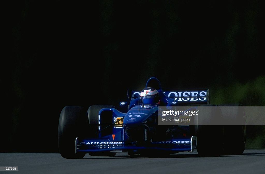 Jarno Trulli of Italy in action in his Prost Mugen Honda during the Austrian Grand Prix at the A1 Ring circuit in Spielberg, Austria. Trulli did not finish. \ Mandatory Credit: Mark Thompson/Allsport