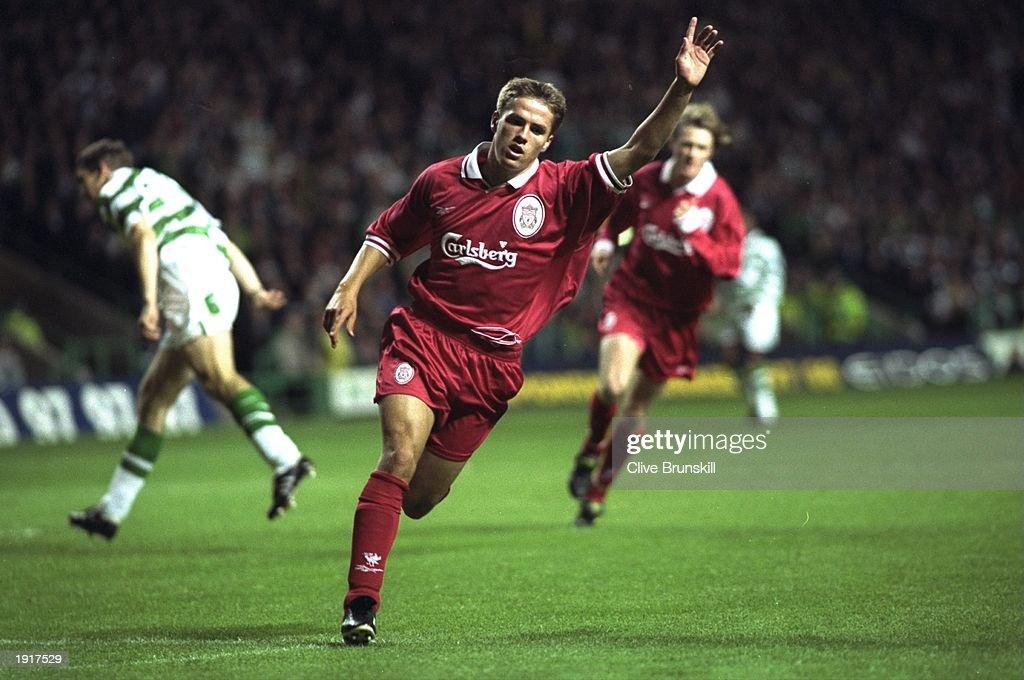 Michael Owen of Liverpool : News Photo