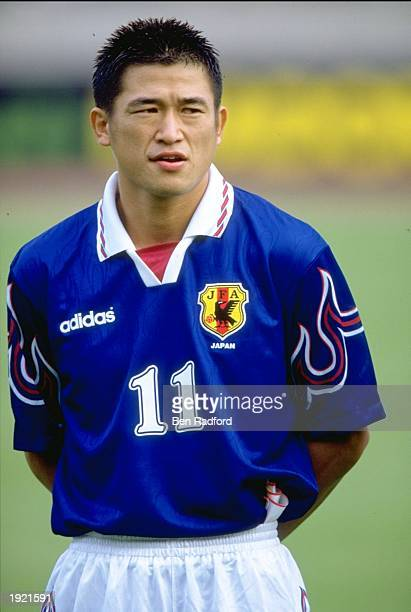 Portrait of Kazuyoshi Miura of Japan before the World Cup qualifier against South Korea at the National Stadium in Tokyo Japan South Korea won 21...