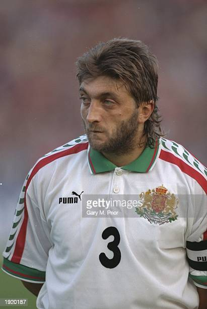Portrait of Trifon Ivanov of Bulgaria before the World Cup qualifying match against Russia in Sofia bulgaria Bulgaria won the match 10 Mandatory...