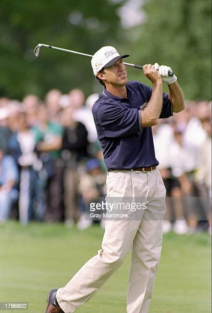 Steve Jones looks on during the Canadian Open at the Royal Montreal Golf Course in Montreal Quebec