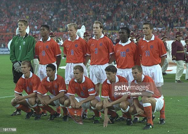 The Holland team group before the World Cup Qualifier match against Belgium in Rotterdam Holland Holland won the match 31 Mandatory Credit Graham...
