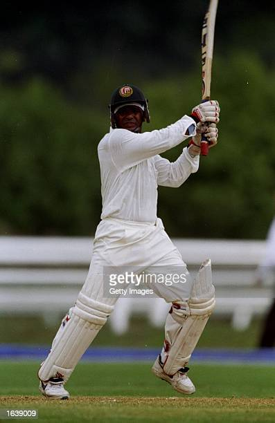 Aminul Islam of Bangladesh in action during the Commonwealth Games cricket series in Kuala Lumpur Malaysia Mandatory Credit Allsport UK /Allsport