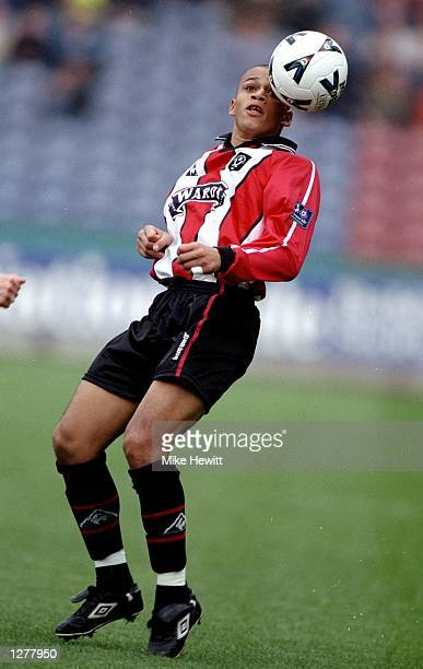 Curtis Woodhouse of Sheffield United during the Nationwide Division one game against Huddersfield Town at the McAlpine Stadium in Huddersfield...