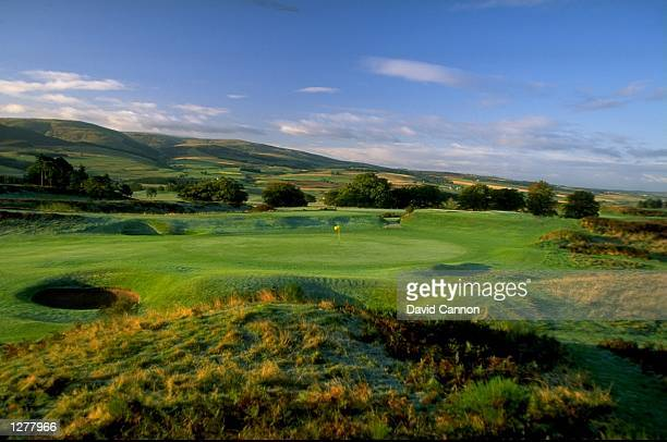 General view of the 7th hole par 4 on the Kings Course at The Gleneagles Hotel in Gleneagles Scotland Mandatory Credit David Cannon /Allsport