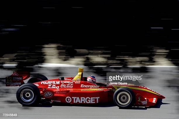 Jimmy Vasser of Team Target/Chip Gnassi driving the Reynard Honda 98I during the CART Grand Prix of Monterey at the Laguna Seca Raceway in Monterey...