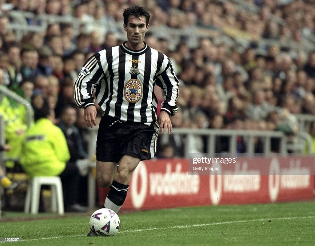 Keith Gillespie of Newcastle : News Photo