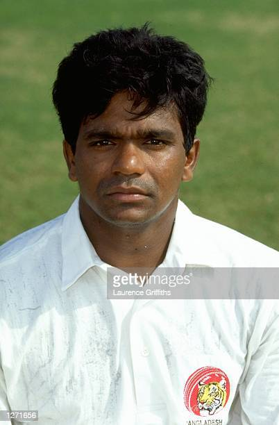 Portrait of Aminul Islam a member of the Bangladesh cricket team at the Commonwealth Games in Kuala Lumper Malaysia Mandatory Credit Laurence...