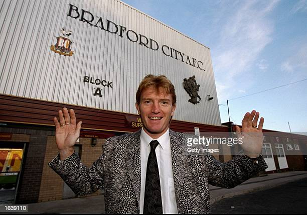 Stuart McCall of Bradford City outside his home ground before the Nationwide Division One game against Sheffield United at Valley Parade in Bradford...