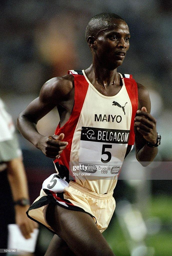Ben Maiyo in action in the 10000m event during the IAAF Golden League Van Damme Memorial at Stade Roi Baudoin in Brussels, Belgium. \ Mandatory Credit: Stu Forster /Allsport