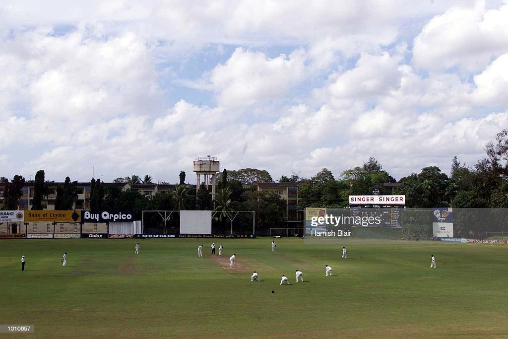 General View of Saravanamuttu Stadium, during day two of the tour match between the Sri Lanka Board XI and Australia at Saravanamuttu Stadium, Colombo, Sri Lanka. Mandatory Credit: Hamish Blair/ALLSPORT