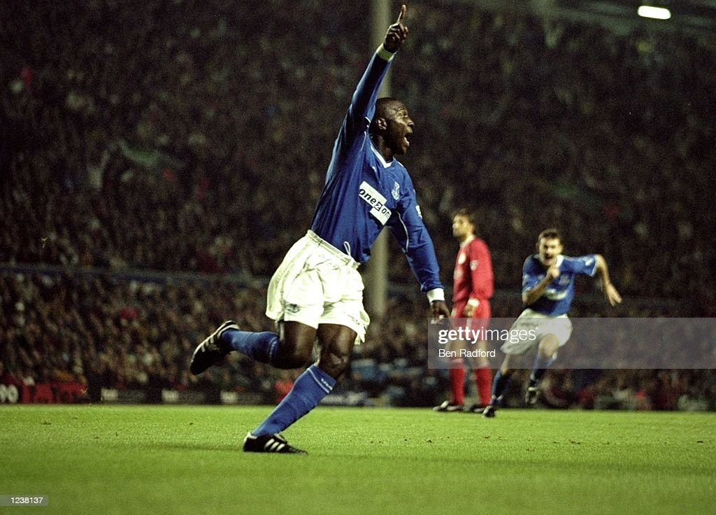 Kevin Campbell of Everton : News Photo