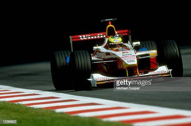 Ralf Schumacher of Germany and Williams Supertec in action during the Italian Formula One Grand Prix at Monza in Italy Mandatory Credit Michael...
