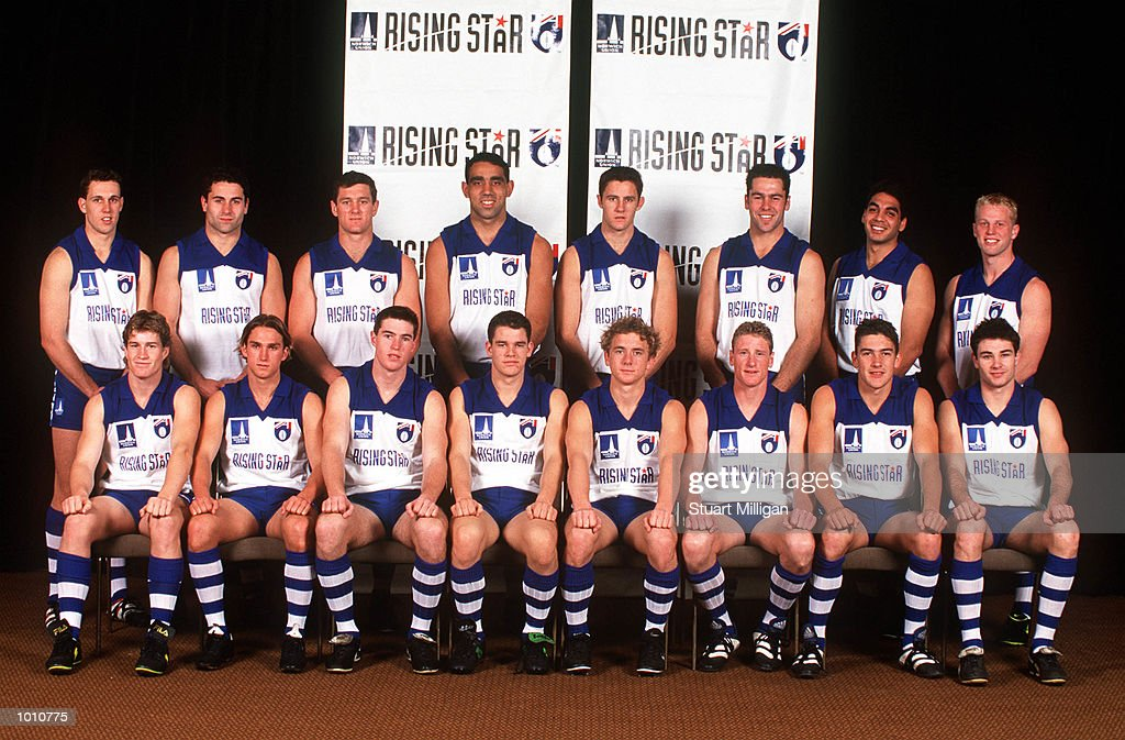 The 1999 Norwich Rising Star Nominees pose for a group photograph. The Award was presented at the Palladium, Crown Casino, Melbourne, Australia. Mandatory Credit: Stuart Milligan/ALLSPORT