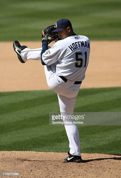 Sep 20 2007 San Diego CA USA Pittsburgh Pirates against San Diego Padres TREVOR HOFFMAN at Pecto Field The Padres won 63