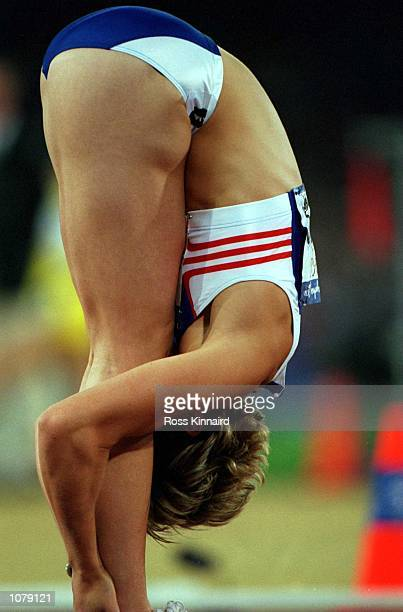 Alison Curbishley of Great Britain at the Olympics Games held in Sydney Australia Mandatory Credit Ross Kinnaird/ALLSPORT