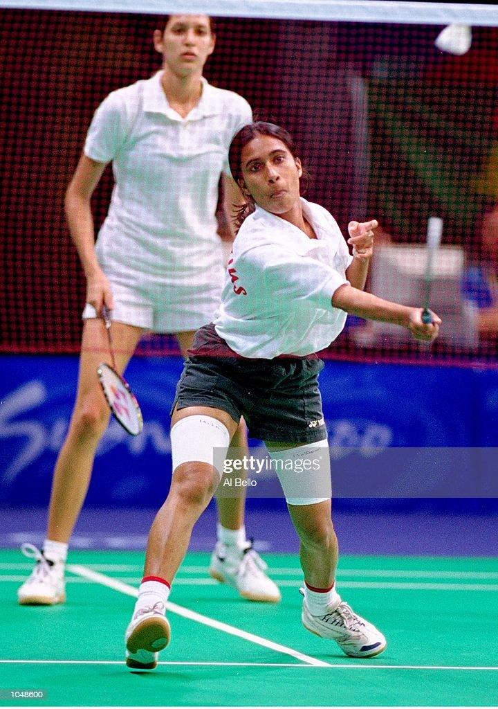 Amrita Sawaram and Marie-Helene Pierre : News Photo