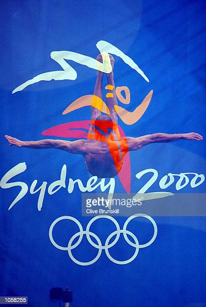 An impression of the Mens 3m Springboard Semi Finals at the Sydney International Aquatic Centre on Day Eleven of the Sydney 2000 Olympic Games in...