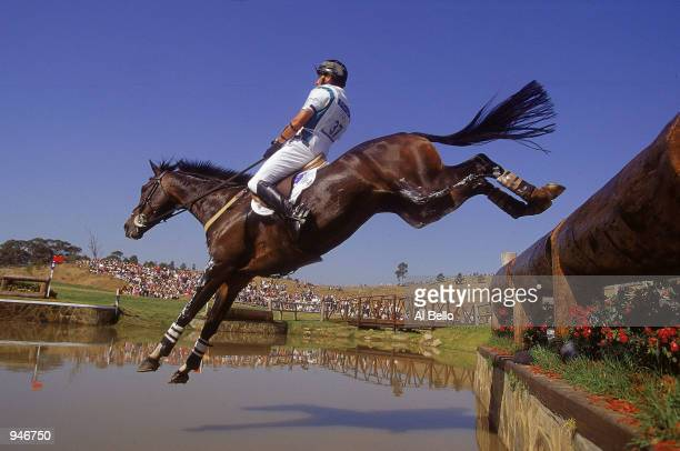 Brook Staples of Australia on Master Monarch in action during the Individual Three Day Event Cross Country at the Sydney International Equestrian...