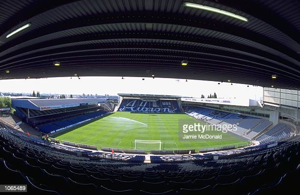 General View of The Hawthorns ground home to West Brom before the Nationwide League Division One match between West Brom and Crystal Palace at The...